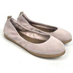 Toms Olivia Flats Women's Blush Pink Suede